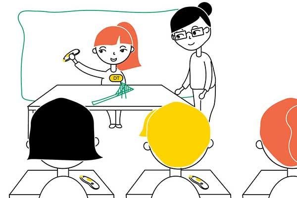 The Benefits of Peer-Teaching 3Doodling